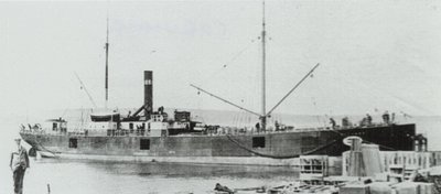 CORUNNA (1891, Package Freighter)