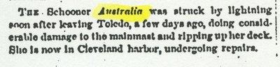 AUSTRALIA (1852, Schooner)