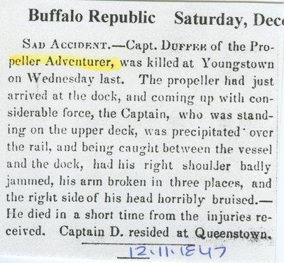 ADVENTURE (1843, Propeller)