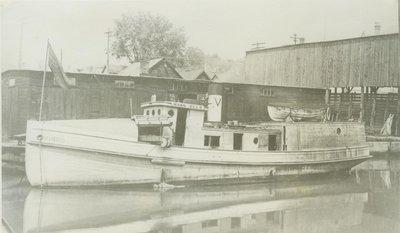 VAN ELLS, H.M. (1885, Tug (Towboat))