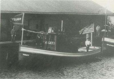 VIOLET (1890, Tug (Towboat))
