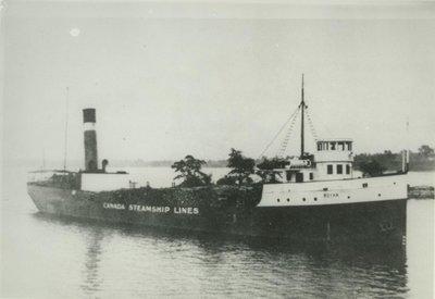 WACCAMAW (1900, Bulk Freighter)