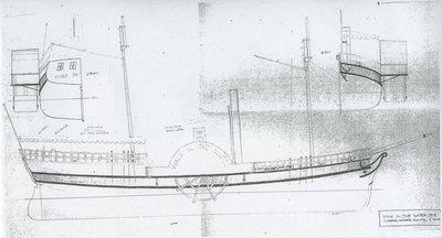 WALK IN THE WATER (1818, Steamer)