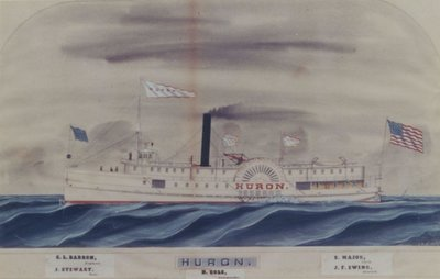 HURON (1852, Steamer)