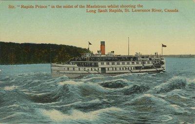 RAPIDS PRINCE (1910, Passenger Steamer)