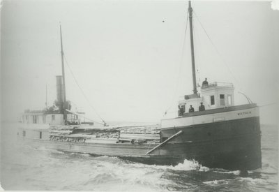 THEW, W. P. (1884, Steambarge)