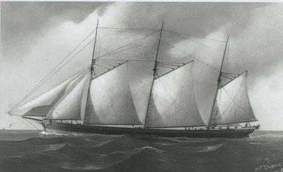 TWIN SISTERS (1889, Schooner)