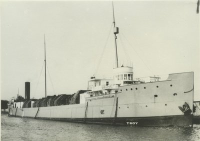 TROY (1898, Package Freighter)