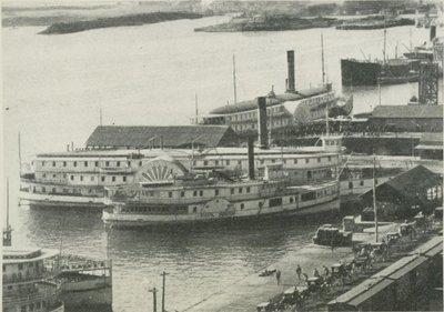 TROIS RIVIERES (1869, Steamer)