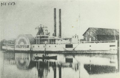 CLIFTON (1853, Steamer)