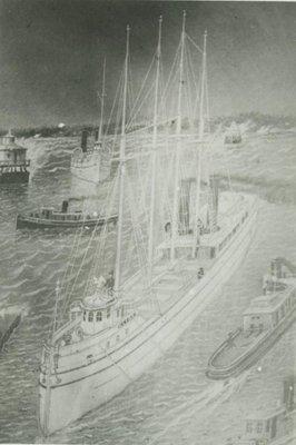 CLYDE (1881, Bulk Freighter)