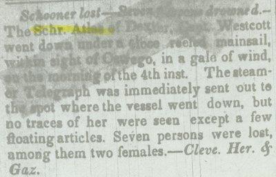 ATLAS (1838, Schooner)