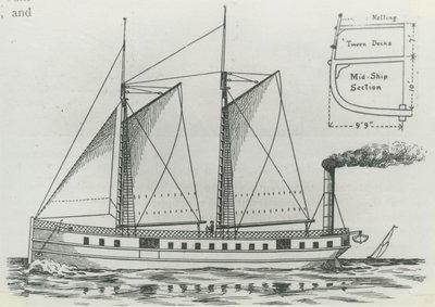 OSWEGO (1842, Propeller)