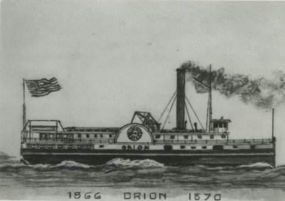 ORION (1865-66, Steamer)