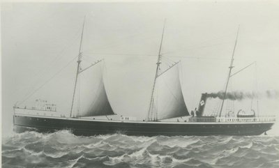 PALMER,  THOMAS  W. (1889, Bulk Freighter)