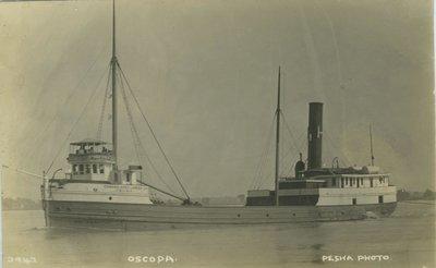 OSCODA (1878, Steambarge)