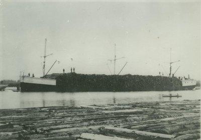 WAHNAPITAE (1886, Barge)