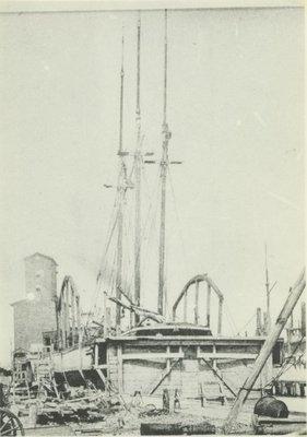 HURON (1859, Barge)