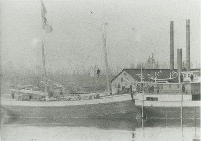 HURON (1874, Schooner)