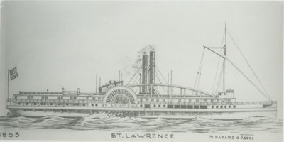 ST. LAWRENCE (1853, Steamer)