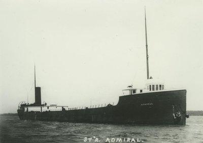 ADMIRAL (1899, Bulk Freighter)