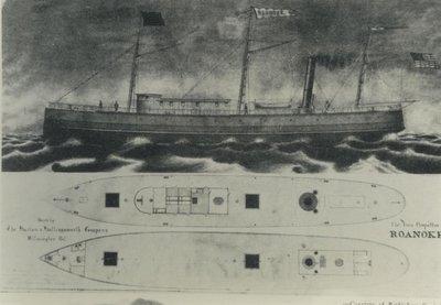 ROANOKE (1871, Package Freighter)