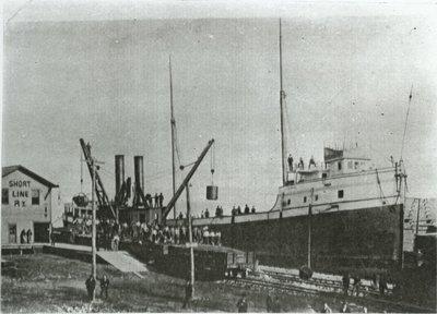 ROUMANIA (1887, Bulk Freighter)
