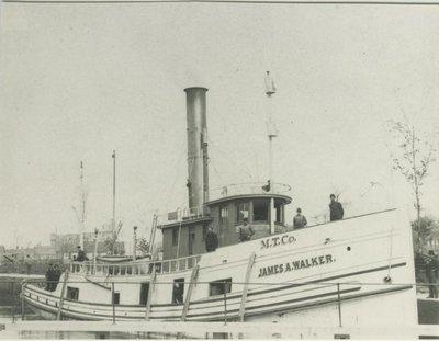 WALKER, JAMES A. (1887, Tug (Towboat))