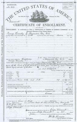RINGLEADER (1889, Scow Sloop)
