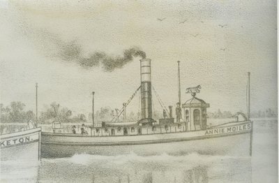 MOILES, ANNIE (1867, Tug (Towboat))
