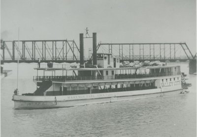 VALLEY CITY (1892, Steamer)