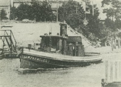 PARMELEE, J. W. (1883, Tug (Towboat))
