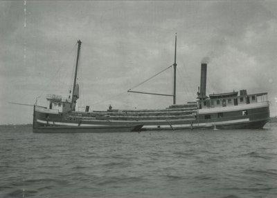 PINE LAKE (1895, Steambarge)