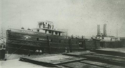 STEVENS, WILLIAM H. (1886, Package Freighter)