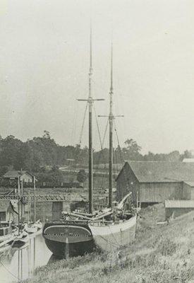 STEWART, ERIE (1874, Schooner)