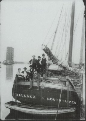 WALESKA (1866, Schooner)