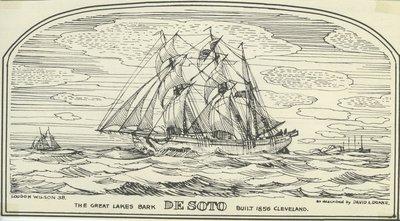 DESOTO (1856, Barkentine)