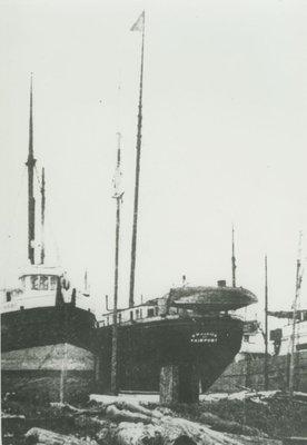 PARKER, B. W. (1890, Schooner-barge)