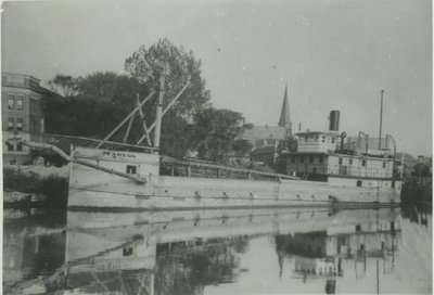 PEARSON (1921, Steambarge)