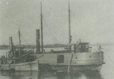 SAGINAW (1873, Car Ferry (Rail Ferry))