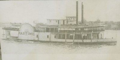 PASTIME (1889, Excursion Vessel)
