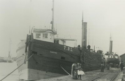 CANISTEO (1886, Steambarge)