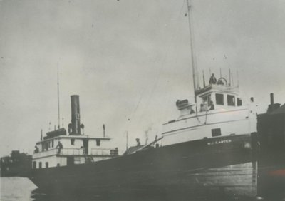 CARTER,  W.J. (1886, Steambarge)
