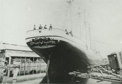 FONTANA (1888, Schooner-barge)
