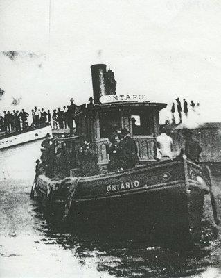 ONTARIO (1866, Tug (Towboat))