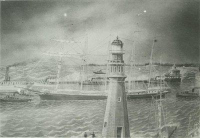 DOWS, DAVID (1881, Schooner)