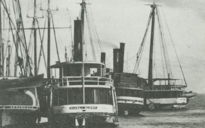 BELLE (1860, Steambarge)