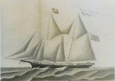 STALKER, M. (1863, Schooner)