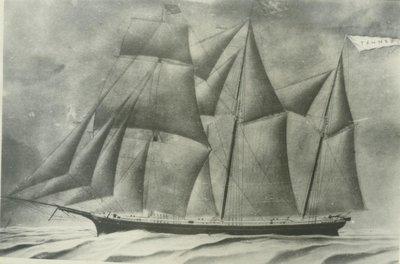 TANNER (1863, Barkentine)
