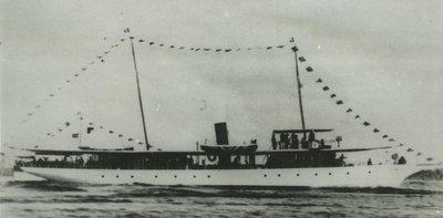 CANGARDA (1901, Yacht)